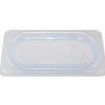 Cambro - Ninth 1/9 Size Food Pan Seal Cover White | Public Kitchen Supply