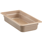 "Cambro - 1/3 Size x 2.5"" Deep High-Heat Food Pan  