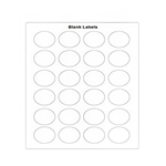 Fundamental Designs - FIFO Blank Labels (24/sheet) | Public Kitchen Supply