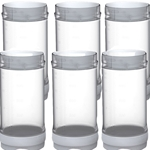 Fundamental Designs - 16 oz FIFO Portion Pal Bottles Triple Valve (6 ct)