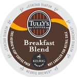 Tully's Coffee - Breakfast Blend K-Cups | Public Kitchen Supply