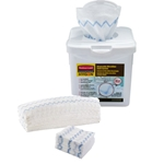 Rubbermaid - HYGEN Disposable Microfiber Cloth Starter Kit | Public Kitchen Supply