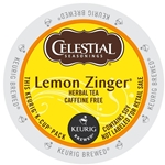 Celestial Seasonings - Lemon Zinger Tea Retail K-Cups (72 ct) | Public Kitchen Supply