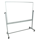 "Luxor - 60"" Reversible White Board w/Frame 
