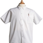 Iron Guard- White Snap Button Chef Shirt (S-XL)