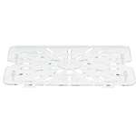 Cambro - Half 1/2 Size Drain Tray Clear Cold | Public Kitchen Supply