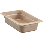 "Cambro - 1/4 Size x 4"" Deep Food Pan  