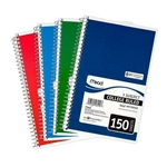 "Three Subject 9.5""x6"" Notebook 