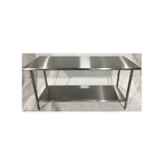 Iron Guard-Work Table All SS 24 X 72, 430-16GA with 18GA Undershelf| Public Kitchen Supply