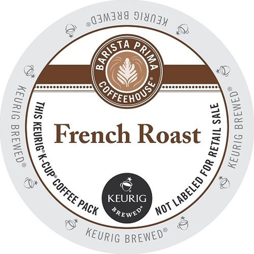 Barista Prima Coffeehouse - French Roast K-Cups | Public Kitchen Supply
