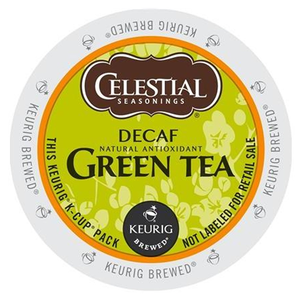 Celestial Seasonings - Decaf Natural Antioxidant Green Tea K-Cups | Public Kitchen Supply