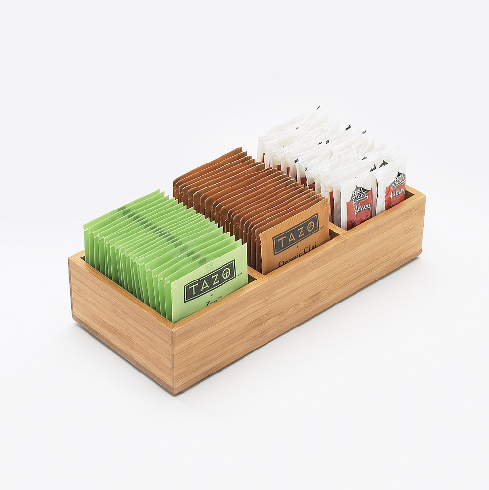 Cal-Mil - Bamboo Packet Organizer | Public Kitchen Supply