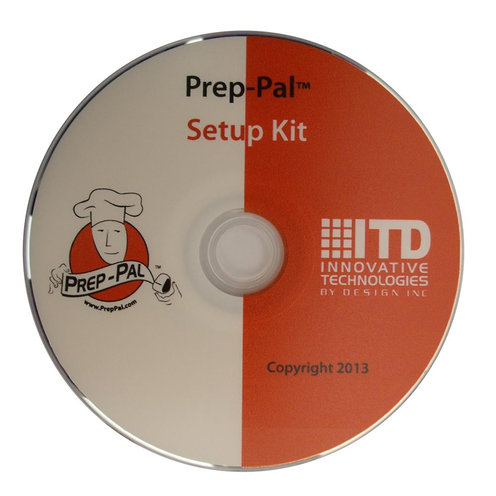 ITD - Prep-Pal 3 Upgrade CD | Public Kitchen Supply