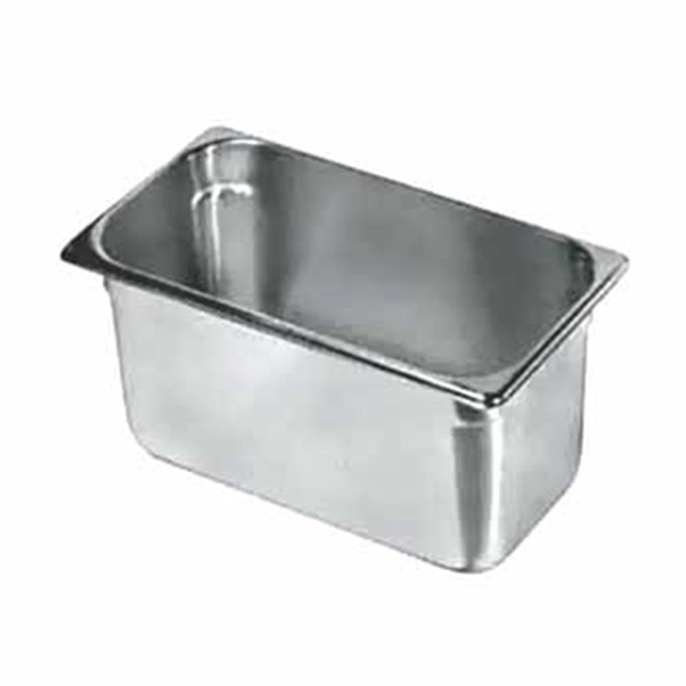 "Update International - 1/3 Size x 4"" Deep Food Pan (SS) 
