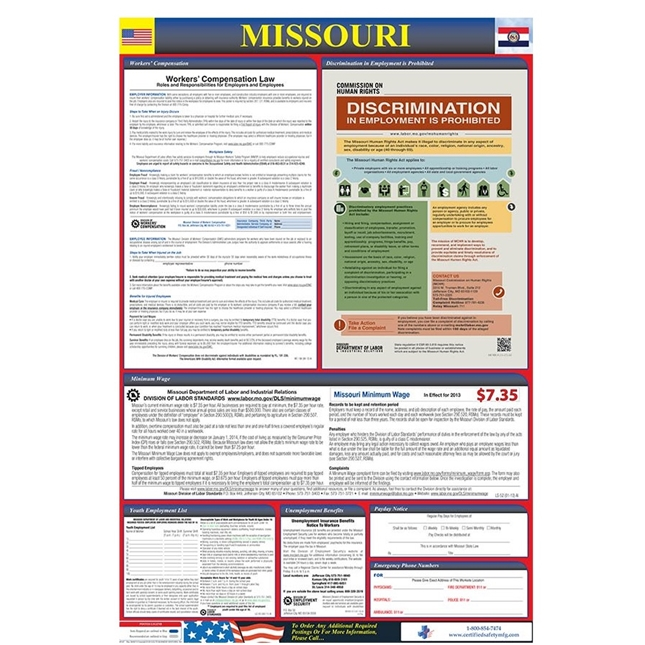 Osha4Less - All-in-One-Poster w/Poster Updates | Public Kitchen Supply