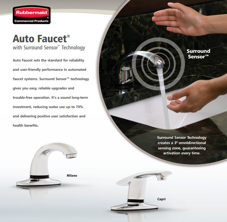 Automatic Faucet Rubbermaid