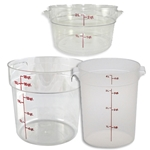 Round Food Storage | Restaurant Supplier | Public Kitchen Supply
