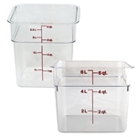 Square Food Storage | Restaurant Supplier | Public Kitchen Supply