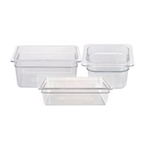 Clear Food Pans | Restaurant Supplier | Public Kitchen Supply