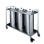 Three Tube Plate Dispensers | Public Kitchen Supply