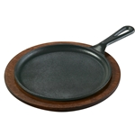 Cast Iron Sizzle Plate | Fajita Griddle | Public Kitchen Supply