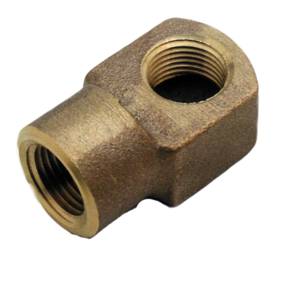 "T&S -ELBOW, 1"" X1-13/16"", BRASS 