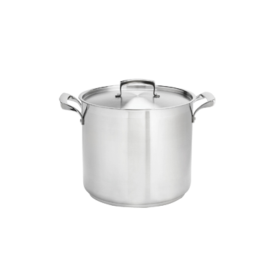 Browne - 24 Qt Stainless Steel Stock Pot |Public Kitchen Supply