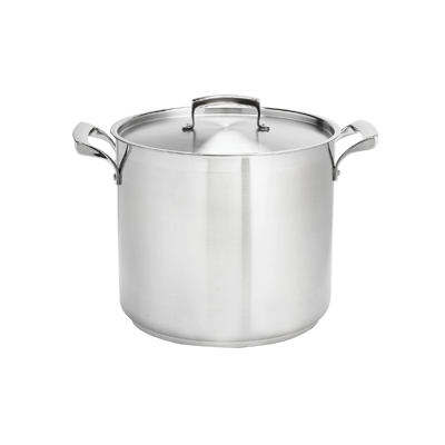 Browne - 60 Qt Stainless Stock Pot | Public Kitchen Supply