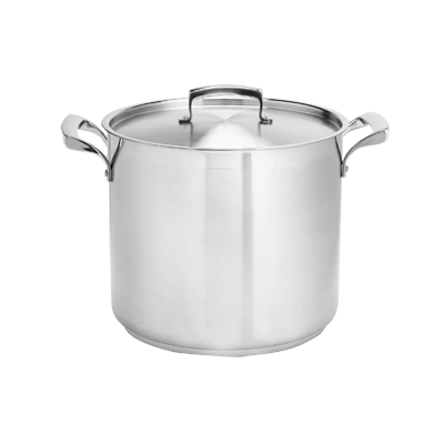 Browne - 80 Qt Stainless Stock Pot | Public Kitchen Supply