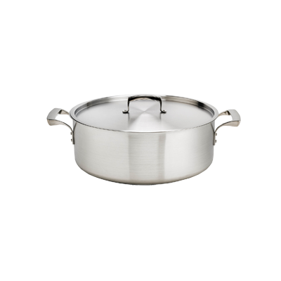 Browne - 8 Qt Brazier Pan (SS) | Public Kitchen Supply