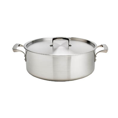 Browne - 20 Qt Stainless Brazier Pan | Public Kitchen Supply