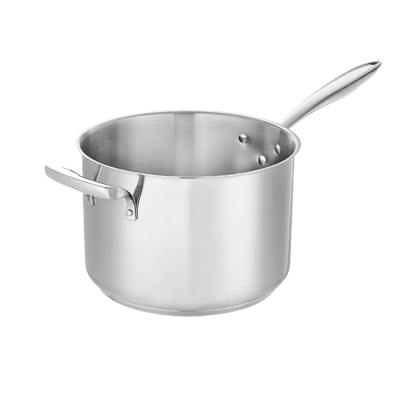 Browne - 7.6 Qt Sauce Pan (SS) | Public Kitchen Supply