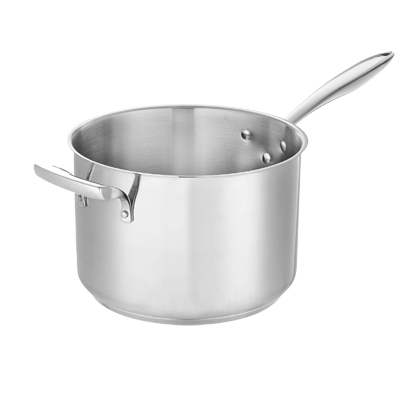Browne - 10 Qt Sauce Pan (SS) | Public Kitchen Supply