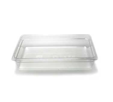 "Cambro - Full 1/1 Size x 4"""" Deep Food Pan Clear Cold 
