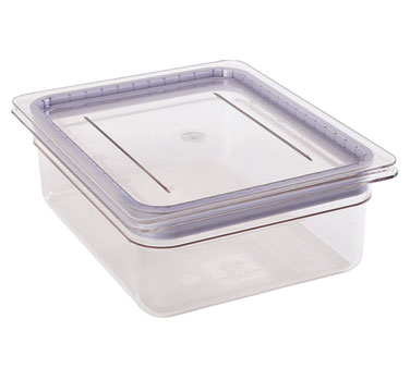 Cambro - Full 1/1 Size Food Pan GripLid Cover Clear Cold | Public Kitchen Supply