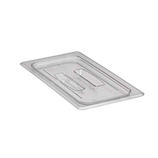 Cambro - Third 1/3 Size Food Pan Cover W/Handle Clear Cold | Public Kitchen Supply