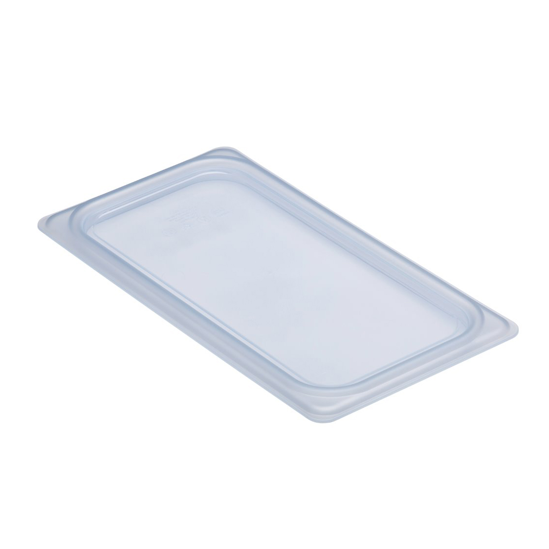 Cambro - 1/3 Size Clear Food Pan Cover | Public Kitchen Supply