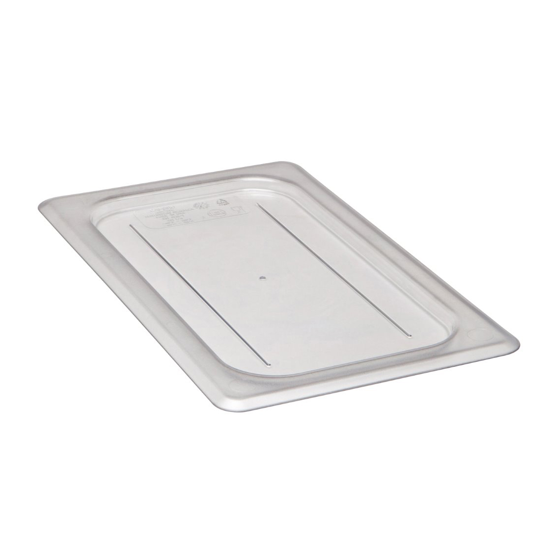 Cambro - Quarter 1/4 Size Food Pan Cover Clear Cold | Public Kitchen Supply