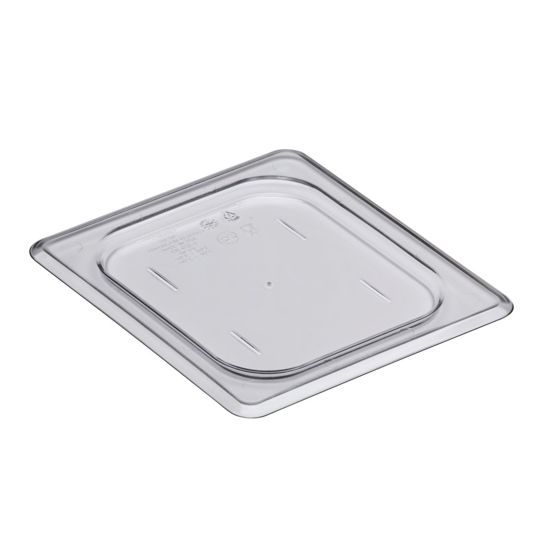 Cambro - Sixth 1/6 Size Food Pan Cover Clear Cold | Public Kitchen Supply