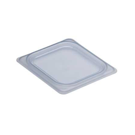Cambro - 1/6 Sz Food Pan Cover (Clear) | Public Kitchen Supply