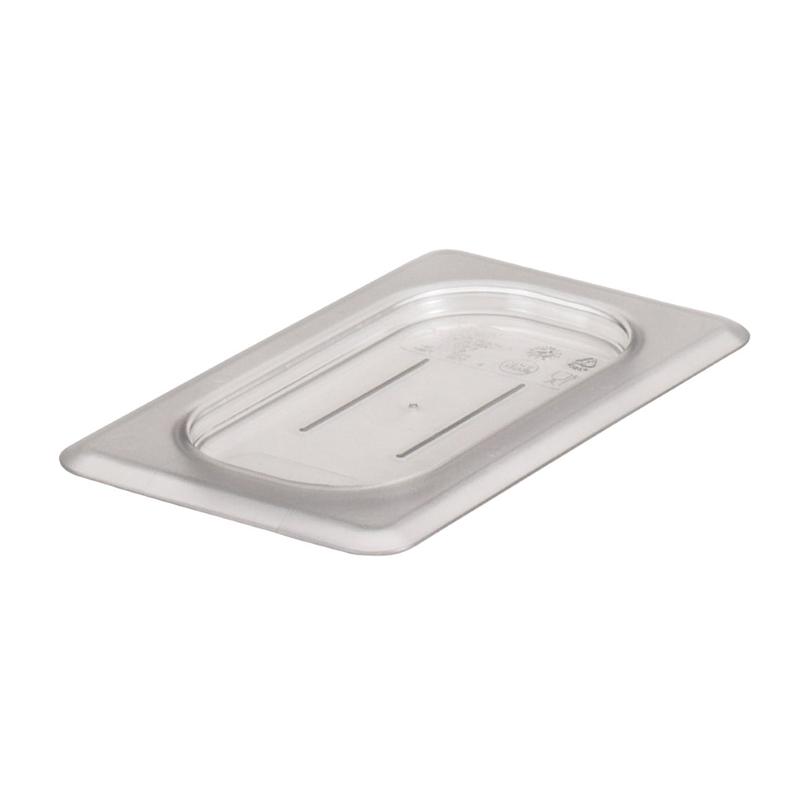 Cambro - Ninth 1/9 Size Food Pan Cover Clear Cold | Public Kitchen Supply