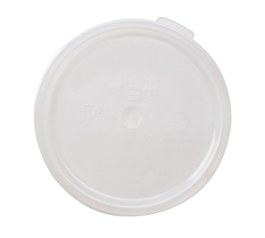 Cambro - 2 & 4 QT Round Storage Container Cover (Clear) | Public Kitchen Supply