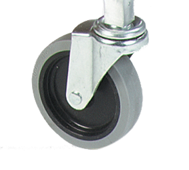 "Carlisle- Casters, 3"" swivel, for Mop Buckets, silver (36908C00)"