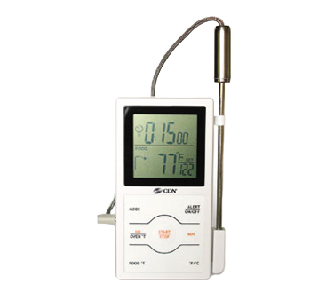 CDN - Dual-Sensing Probe Thermometer/Timer | Public Kitchen Supply