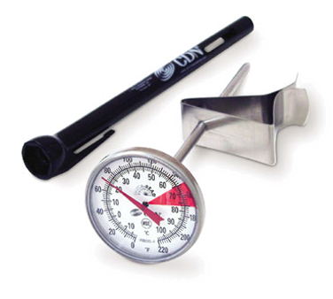 "CDN - ProAccurate 5"""" Beverage & Frothing Thermometer 