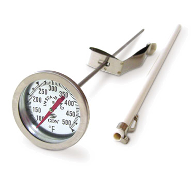 "CDN - 12"""" Long Stem Fry Thermometer 