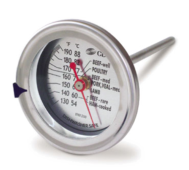 CDN - Extra Large Meat/Poultry Ovenproof Dial Thermometer | Public Kitchen Supply