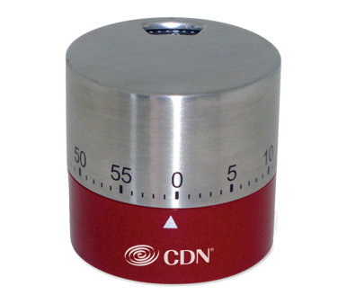 CDN - Red Round Mechanical Timer | Public Kitchen Supply