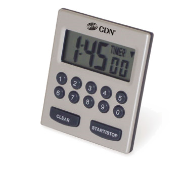 CDN - Direct Entry 2-Alarm Timer | Public Kitchen Supply