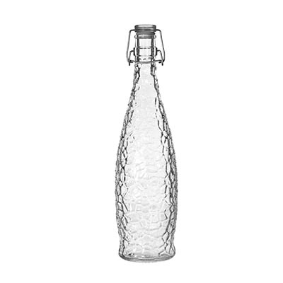 Libbey- Glacier Bottle, 1 liter (33-7/8 oz.) 6/Case (13150120)